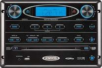 Jensen AWM965 AM/FM,CD,DVD,MP3/USB Wall Mount Stereo, DVD