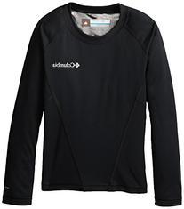 Columbia Boy's Midweight Crew 2 Shirt-Black-XL