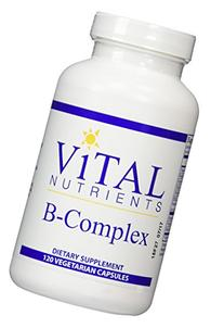 Vital Nutrients - B-Complex - Balanced High Potency B