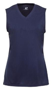 Badger B-Core Girls Performance Solid Color Lap - Neck