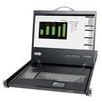 "Tripp Lite B021-000-19  KVM Rack Console 1U Rackmount w 19"""