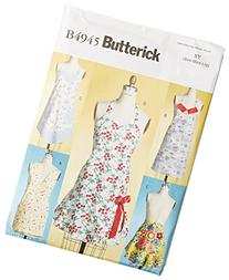 Butterick Patterns B4945 Aprons, All Sizes