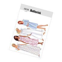 Butterick Patterns B6838 Misses'/Misses' Petite Nightgown,