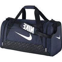 Nike BA4831401 Brasilia 6 S Duffel Grip Gym Bag Midnight