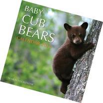 Baby Cub Bears Calendar 2015: 16 Month Calendar