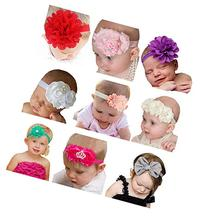 Qandsweet Baby Girl's Beautiful Headbands