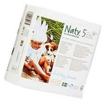 Naty by Nature babycare Eco-Diapers, Size 5, 24-55lbs, 23 ea