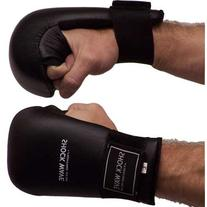 Piranha Gear Back-Fist Karate Sparring Gloves, Black, Large