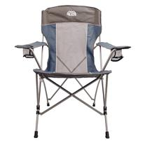 Outdoor Equip High Back Folding Chair Glacier Blue/Stormy