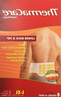 Thermacare Back & Hip Heat Wraps - 6 ct