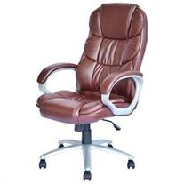 BestOffice Executive Chair - Leather Brown Seat - Leather