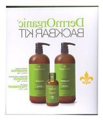 DermOrganic Back Bar Kit - Shampoo 33.8 fl.oz., Masque 33.8