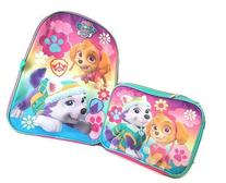 "Girl's Paw Patrol 16"" Backpack W/Lunch Bag Set"