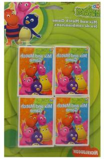 Backyardigans Mix and Match Game Favors