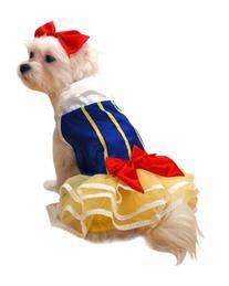 bad Ass Petz-Snow Princess Dog Costume Small