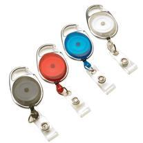 Swingline GBC ID Badge Holder, BadgeMates, Translucent