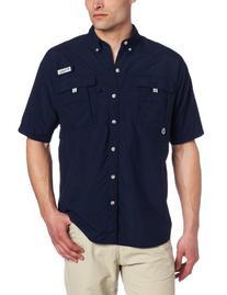 Columbia Men's Bahama II Short Sleeve Shirt, X-Large,