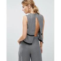 Finders Bailey Open Back Top Co-ord