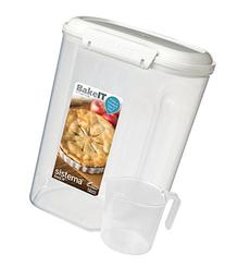 Sistema Bake IT Sugar Storage Container with Measuring Cup,
