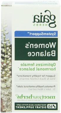 Gaia Herbs Women's Balance, 60 Liquid Phyto-Capsules