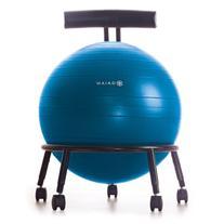 Gaiam Classic Balance Ball Chair – Exercise Stability Yoga