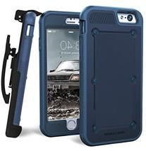 iPhone 6 BallisticSheild Armor Case & Belt Clip - Blue