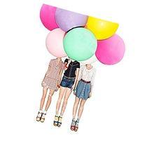 Rainbow Love 20 PCS Latex Balloons, 36 inches 25g/pc, Super