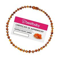 Best Baby Premium Baltic Amber Teething Necklace   100% Pure
