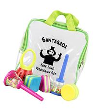 Santagada 6 Piece Baby Band Percussion Set in Zippered