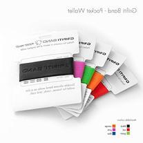GRIFITI Band Pocket Wallet Super Slim Profile Colorful