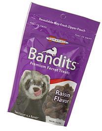 Bandits Treats for Ferrets - Raisin - 3 oz