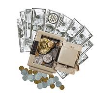 Play Money Bank Set For Kids, 240 Pc -- 160 Bills and 80