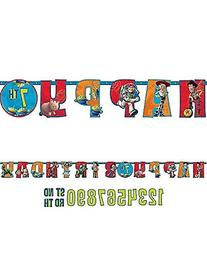 Toy Story Letter Banner 10 Ft