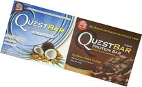 Quest Bar Chocolate Coconut Lovers Bundle Chocolate Brownie