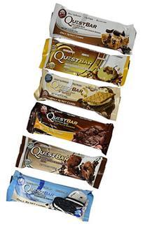 Quest Nutrition Bar Variety Bundle Chocolate Dessert, 12