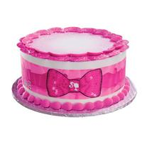 Barbie Bow Edible Cake Border Decoration
