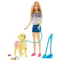Barbie Pup Fashion Doll Walk and Potty Pup - Blonde