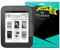 """Barnes & Noble NOOK Simple Touch 6"""" Screen Protector , Klear"""