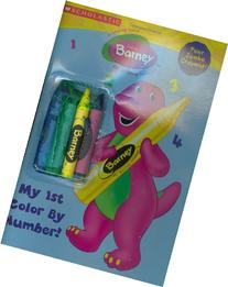 Barney My First Color By Numbers: My 1st Color By Number
