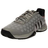 Adidas Barricade 2015 Men's Tennis Shoes Solid Gray / Gray