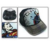 Baseball Cap - Superman - DC Comic Black Hat Trucker Cap