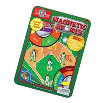T.S. Shure Baseball Game Magnetic Sports Tin