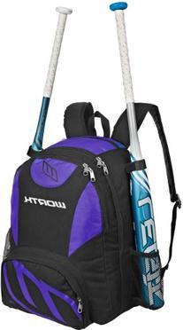 Worth Baseball/Softball Equipment and Bat Backpack Bag,