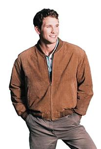 BASEBALL SUEDE LEATHER JACKET BY REED EST. 1950