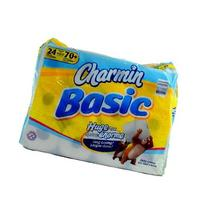 CHARMIN BASIC BATHROOM TISSUE SINGLE ROLL