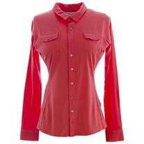 BODEN Women's Basic Button Front Shirt US Sz 16 Bittersweet