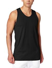 Russell Athletic Men's Basic Cotton Tank Top, Black, X-Large
