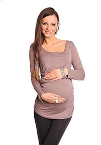 Purpless Maternity New Basic Maternity Long Sleeve Top