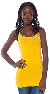 Women's Active Basic Plain Basic Camisole with Spaghetti