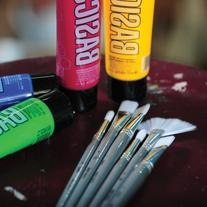 Liquitex BASICS Paint Brush 6-Pack, Short-Handle